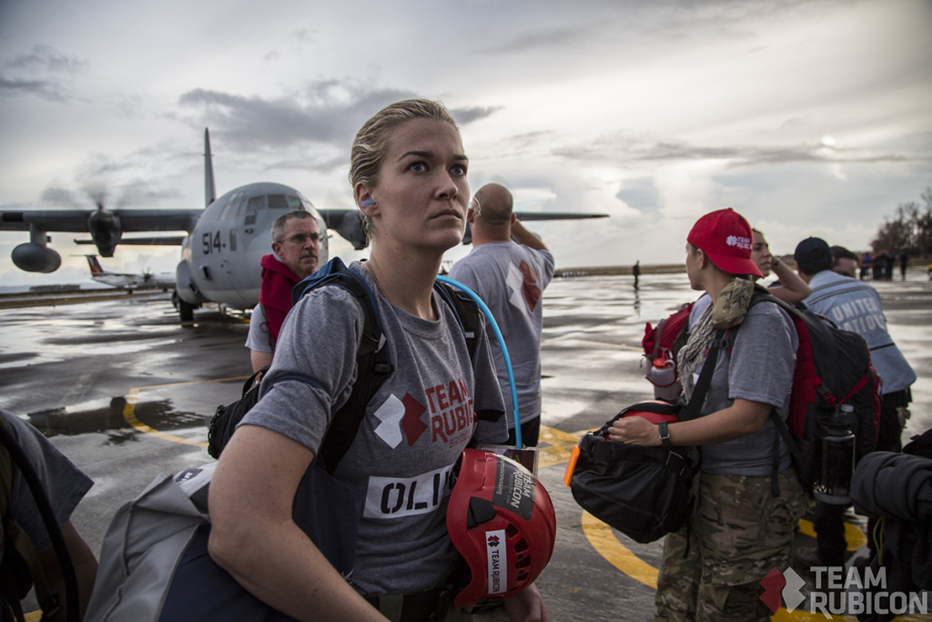 Team Rubicon lands in The Phillippines.