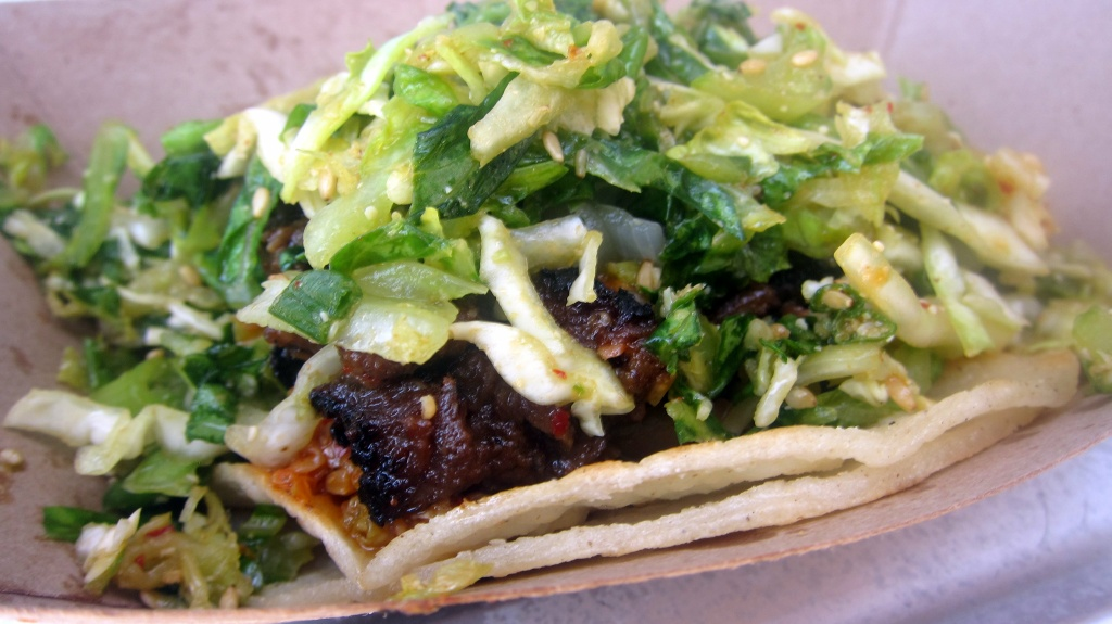 Short rib taco at Kogi.