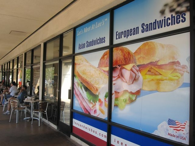Outside a French-Vietnamese sandwich shop on Beach Boulevard, Little Saigon, August 30, 2010