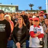 Costa Mesa Trump rally