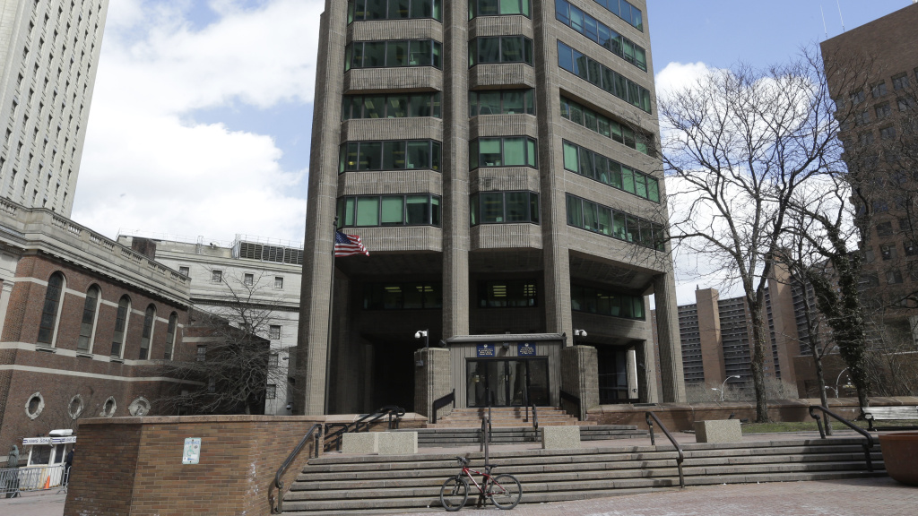 The building that houses the U.S. Attorney's Office for the Southern District of New York is pictured in 2015. Emails and text messages from prosecutors in that office have come out as part of an inquiry into their handling of a case.