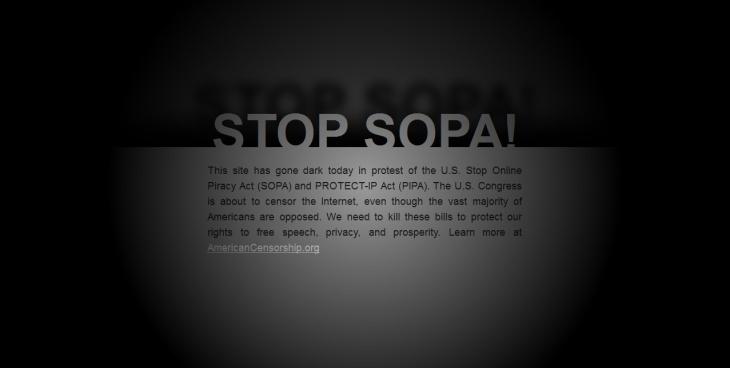 SOPA/PIPA Protest, PostSecret