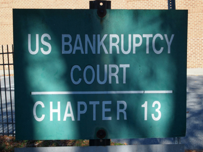 Image of U.S. bankruptcy court.