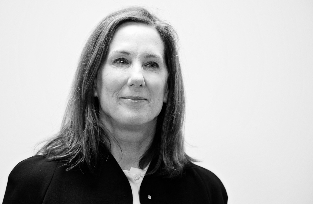 Lucasfilm president Kathleen Kennedy is aware that all of her film mentors have been men.