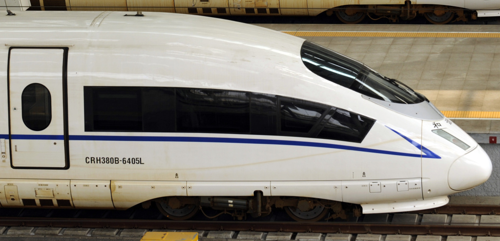 A picture taken on August 11, 2011 show a CRH380BL bullet train sitting at Beijing south railway station.  State-owned Chinese train manufacturer China CNR Corp said it is recalling 54 of its CRH380BL bullet trains being used on a new high-speed rail link between Beijing and Shanghai because of