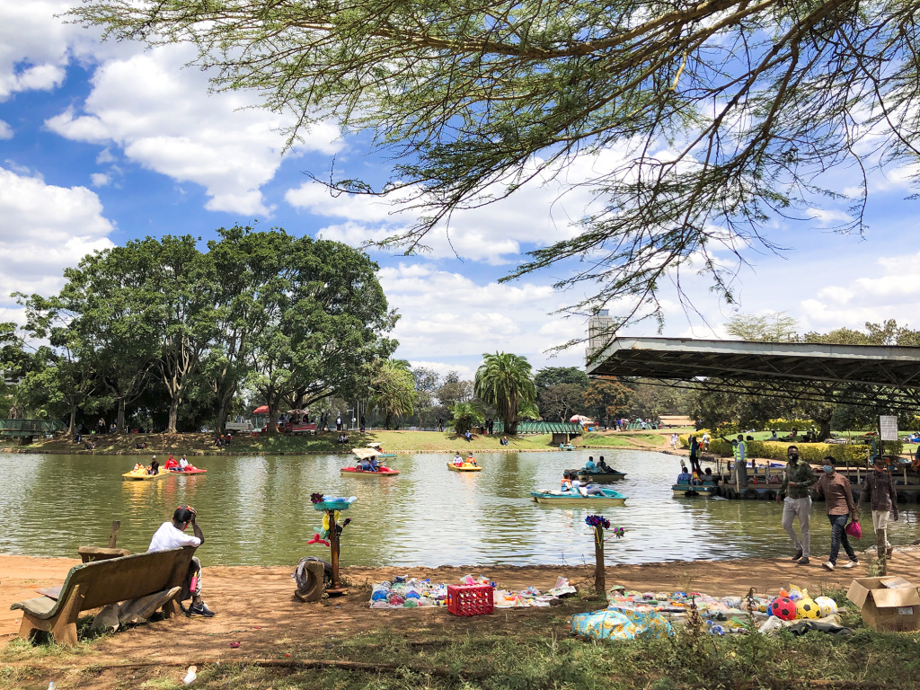 Last Sunday in the park in Nairobi, life was seemingly back to normal in the middle of a pandemic — which didn't appear to hit the country as hard as expected.