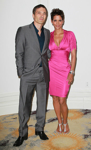 File photo of Halle Berry and Gabriel Aubry attending the launch event for Gap's 1969 Jean Shop on Robertson Blvd. on August 6, 2009.