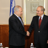 Prime Minister Netanyahu Meets US Middle East Envoy George Mitchell