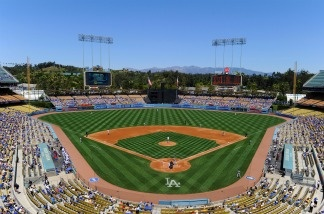 Dodger Stadium on May 1, 2011 in Los Angeles, California.