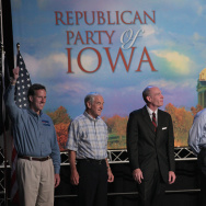 Republican Candidates Vie For First Votes In Iowa Straw Poll