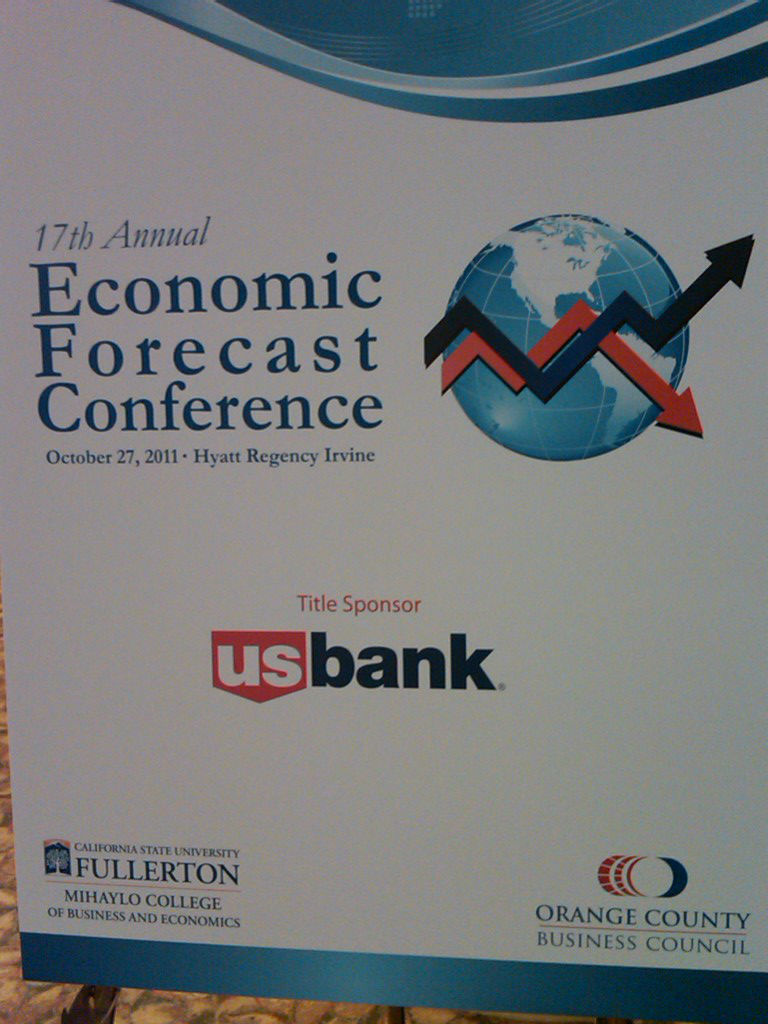 The 17th Annual California State Fullerton Economic Forecast did not paint a pretty picture of the national of state economy for the next few years.