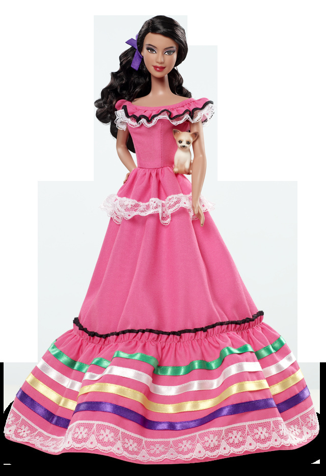 Mexico Barbie.
