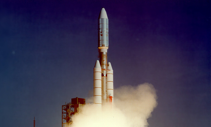 The Voyager mission was designed to take advantage of a rare geometric arrangement of the outer planets in the late 1970s and the 1980s which allowed for a four-planet tour for a minimum of propellant and trip time.