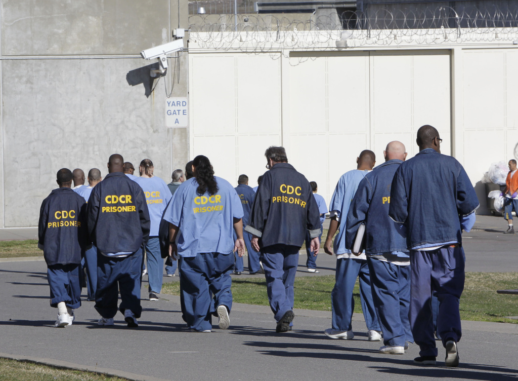 California's prison house more than 100,000 people. The population has gotten so large more than 4,000 are housed out of state in Mississippi and Arizona.  (AP Photo/Rich Pedroncelli)