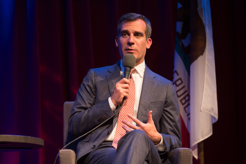 Los Angeles Mayor Eric Garcetti's new sustainability roadmap calls for the city to maintain a brisk pace of adding green jobs, calling for L.A. to add more green jobs than any other city in America by 2017, create 72,500 green jobs by 2025, and 150,000 by 2035.