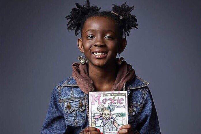 Natalie McGriff and her mother created the comic book.