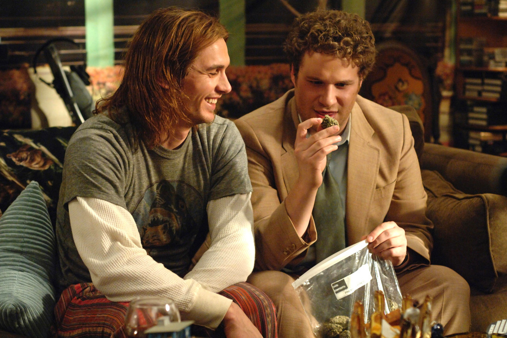 After the pot-smoking comes the insatiable hunger. Just ask James Franco and Seth Rogen's weed-loving characters, as seen in this photo from the film 'Pineapple Express.'