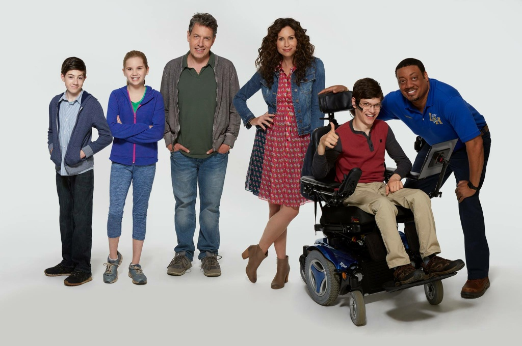 The cast of the new ABC sitcom