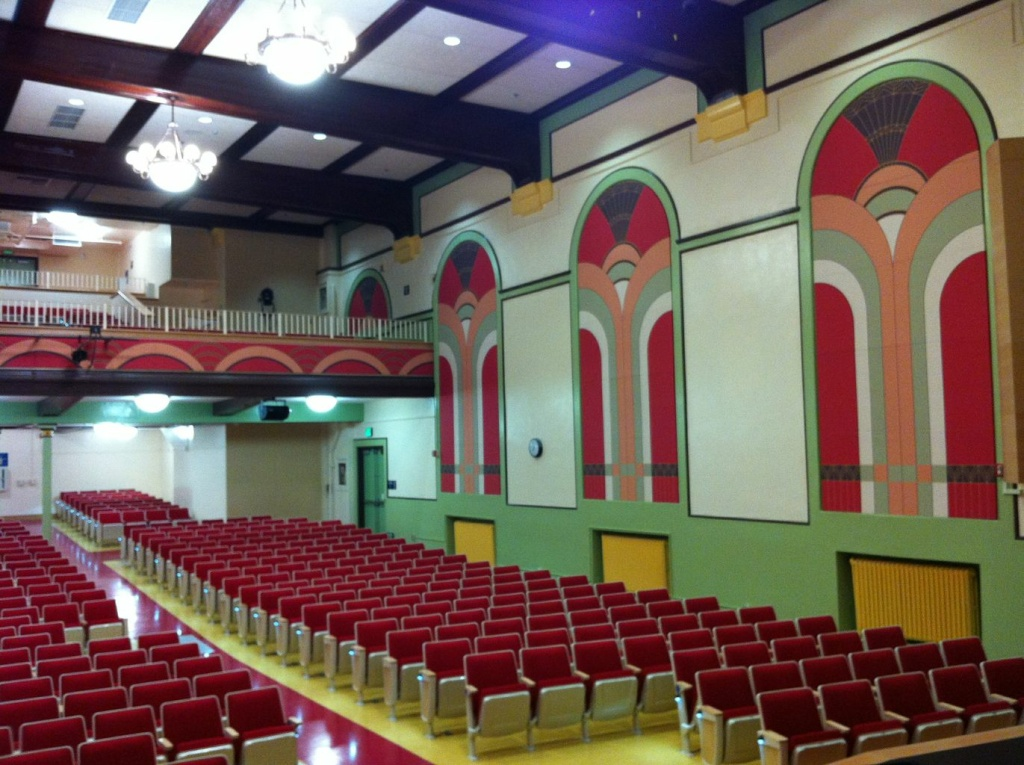 The school's original 90-year-old auditorium was transformed with Measure Y funds to become a 700-seat, state-of-the-art space.