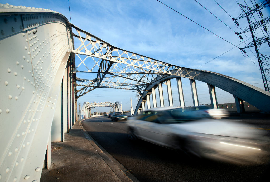 The Sixth Street Bridge will be demolished for a new construction in a $401 million project set to be completed in 2018. Project could be held up if Congress can't agree on funding Highway Trust Fund.