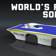 Design for PROVE Lab's fastest solar car