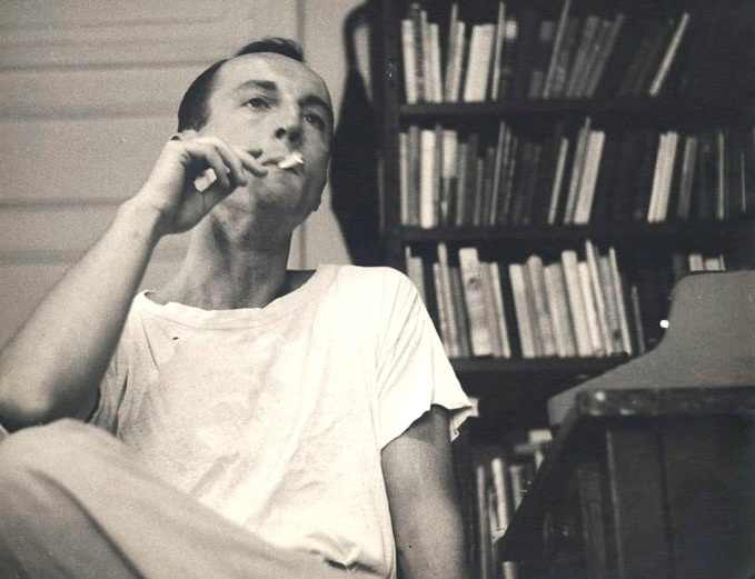 Frank O'Hara, author of