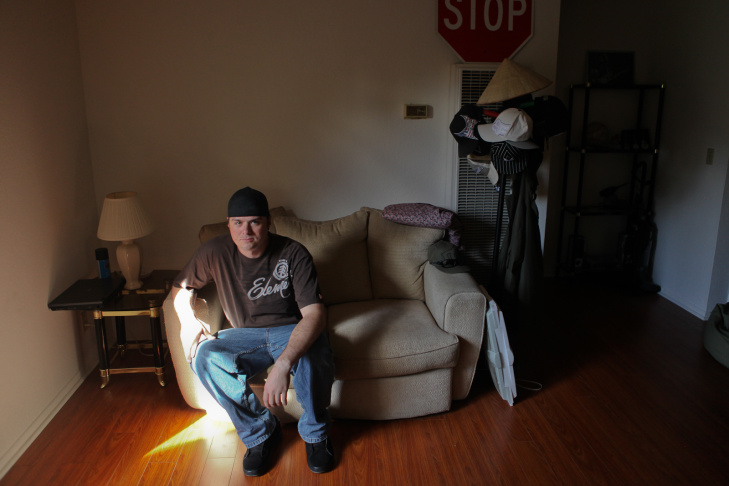 Iraq veteran Marshall Lewis