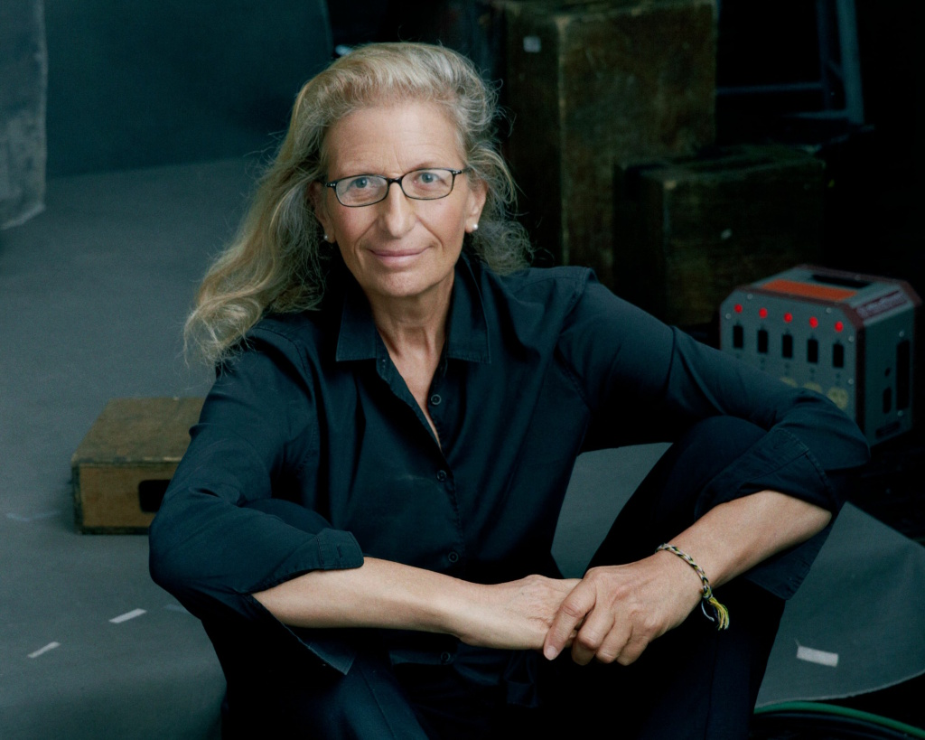 A self-portrait by photographer Annie Leibovitz.