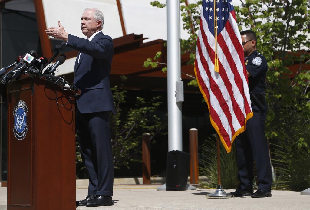 Sessions outlines border enforcement plan