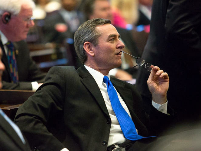 Tenn. Republican Glen Casada says he will resign as house speaker after exchanging inappropriate and offensive text conversations with a former aide.