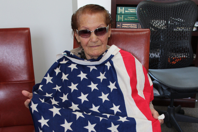 At 99 years old, Khatoun Khoykani is one of the newest U.S. citizens.