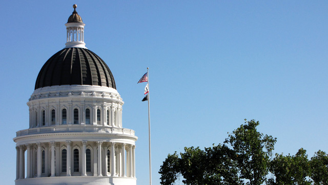 The State Capitol in Sacramento