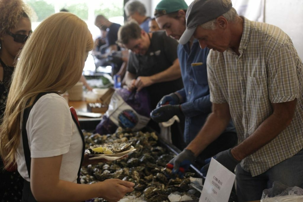 The third annual DTLA Oyster Festival will be held at Grand Central Market Saturday and Sunday.