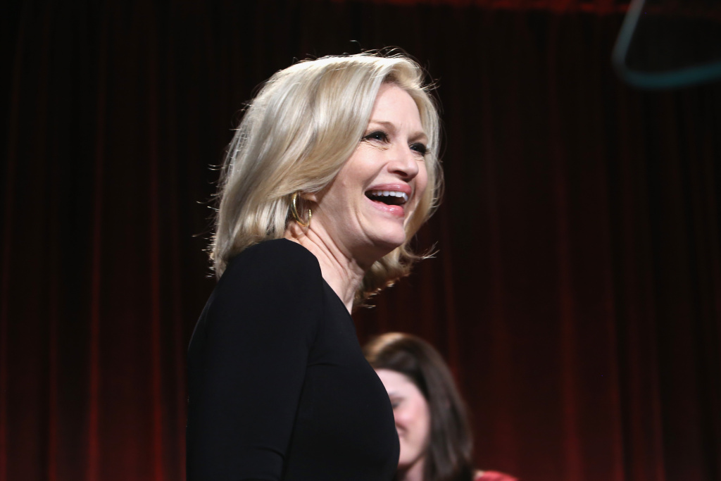 Diane Sawyer attends the Food Bank For New York City's Can-Do Awards celebrating 30 years of service to NYC on April 30, 2013 in New York City. During her tenure, ABC's