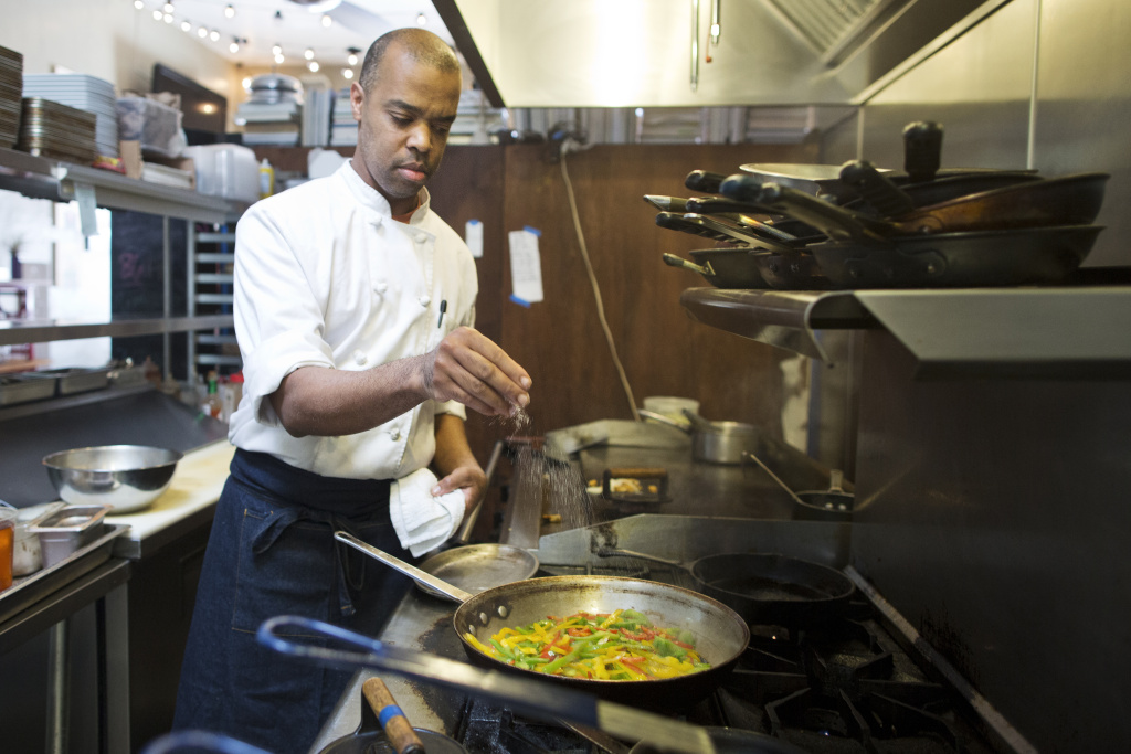 Chef Al Gordon is the founder of Community in Los Feliz. Like the majority of voters in Los Angeles, he doesn't come out for local elections.