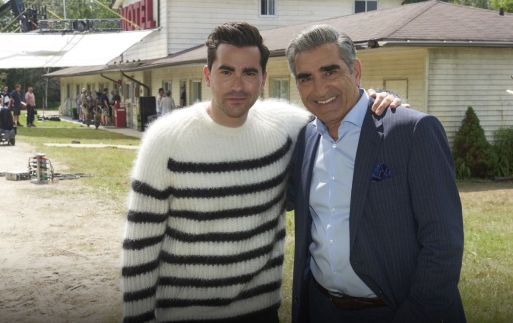 Father-and-son Eugene and Dan Levy are the co-creators and co-stars of