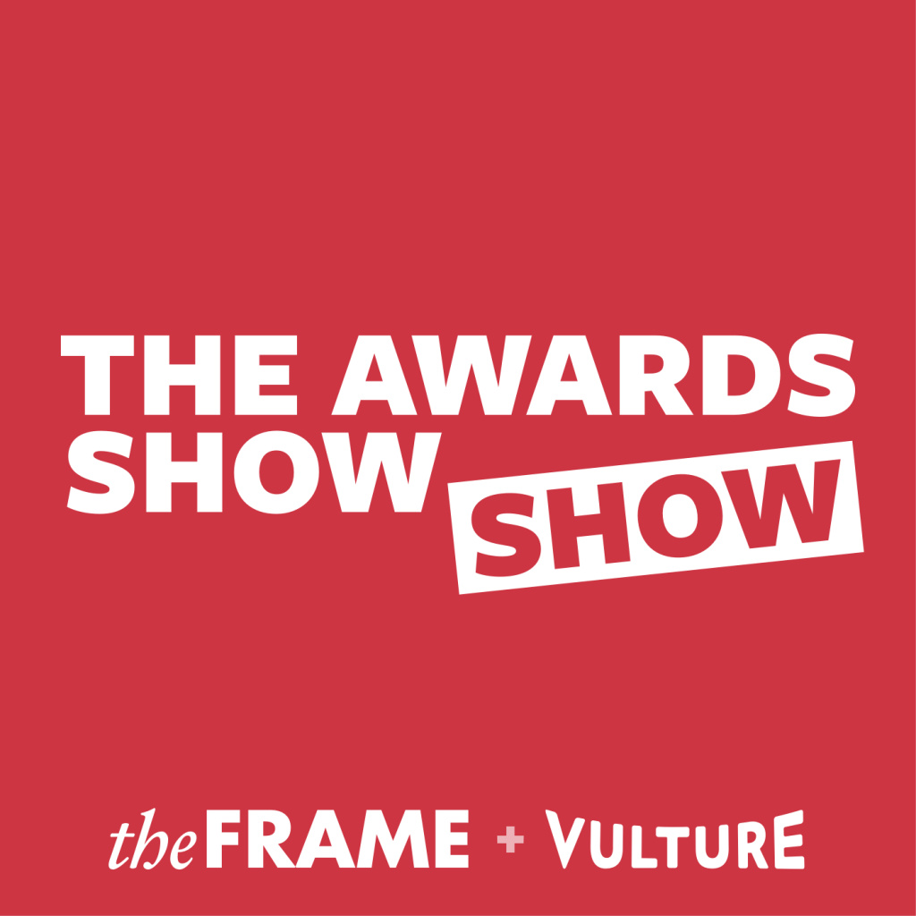 Logo for The Awards Show Show podcast from The Frame and Vulture.com