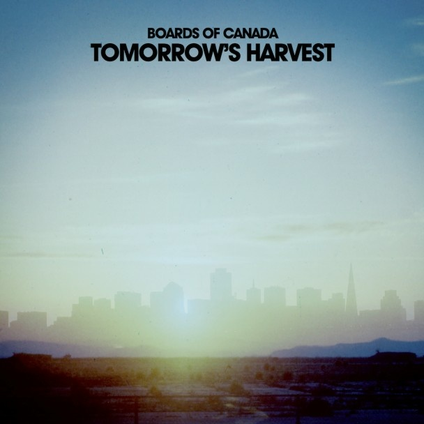 Boards of Canada's latest album, Tomorrow's Harvest, released in June 2013.