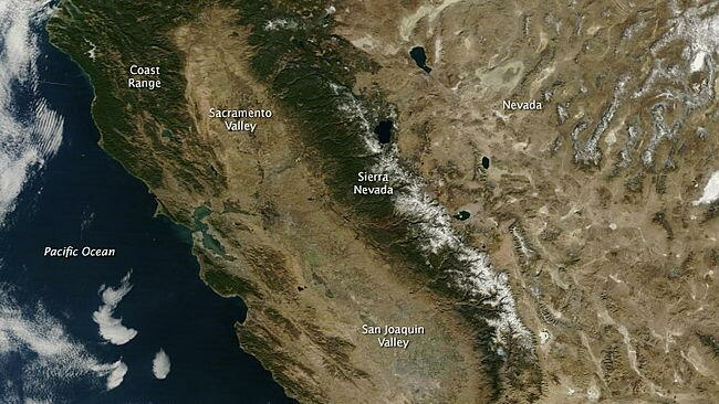 California's drought is mostly the result of naturally occurring oceanic and atmospheric patterns, according to a report released Monday by scientists with the National Oceanic and Atmospheric Administration.