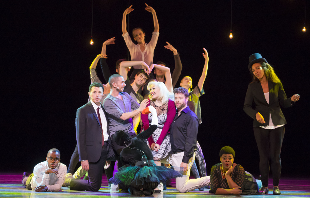 Members of Hubbard Street Dance Chicago and Second City collaborated for
