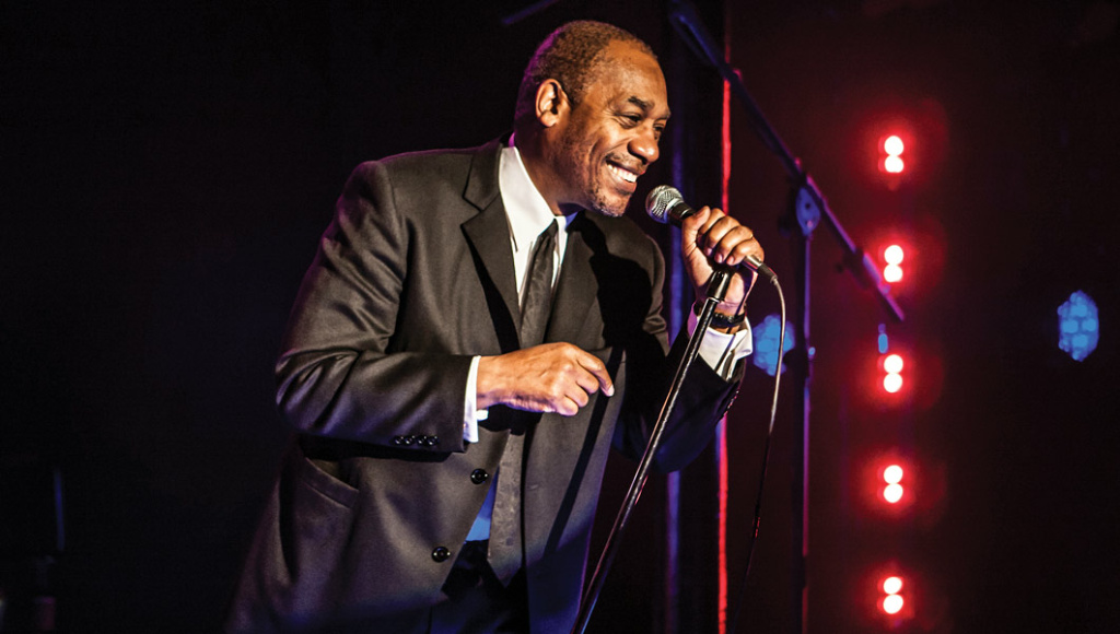 Joe Morton plays comedian Dick Gregory in