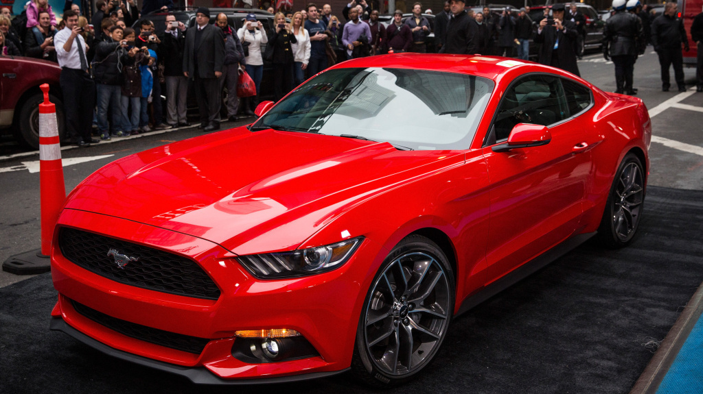 The new 2015 Ford Mustang was unveiled Thursday. The car's new design includes features that are geared toward global markets.
