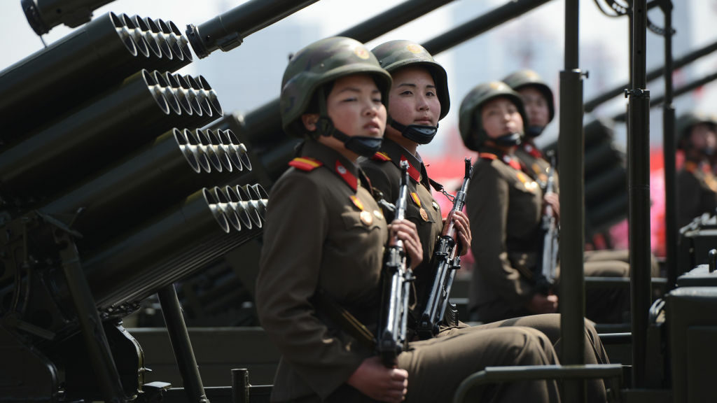 North Korea cut military communications with South Korea and has made threats recently against the U.S. and Guam.