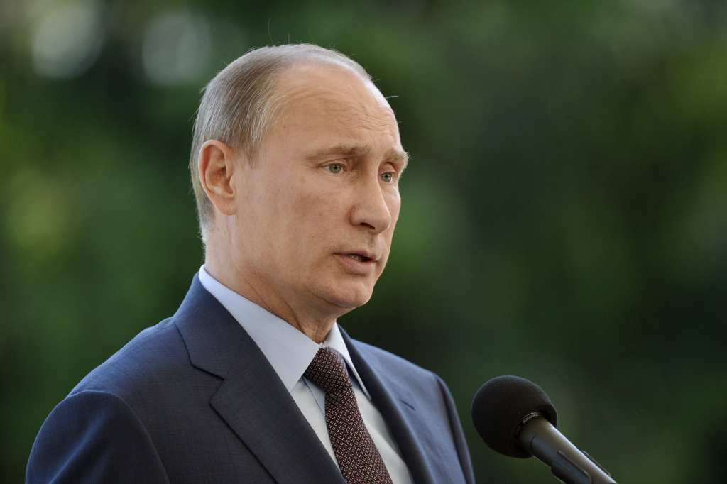 Russian President Vladimir Putin said NSA leaker Edward Snowden is a
