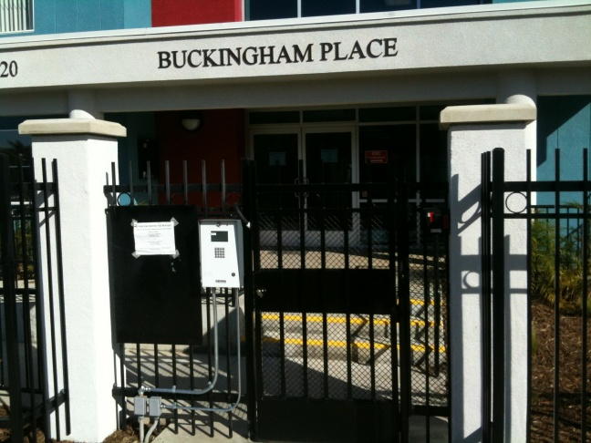 Buckingham Place Entrance