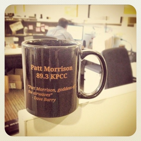 Win this Patt Morrison mug