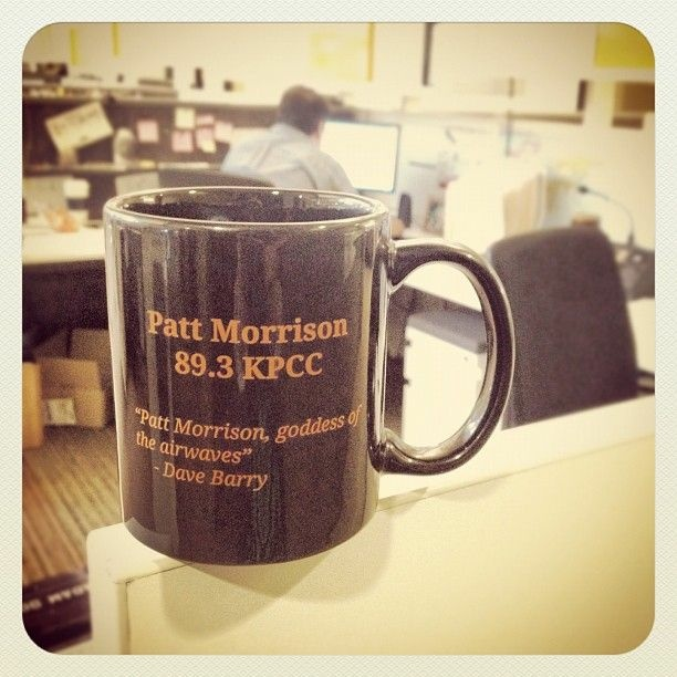 Win this Patt Morrison mug!
