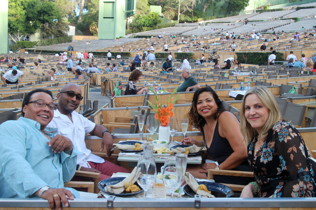 Off ramp how to picnic like a regular at the hollywood for Terrace 2 hollywood bowl