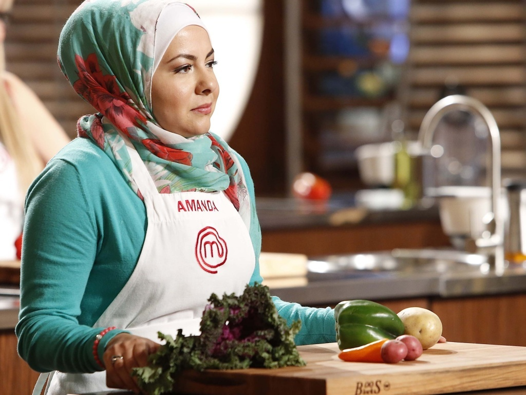 Amanda Saab cracked jokes, showed her creative side and even cooked bacon (which she didn't eat) during her time as a contestant on