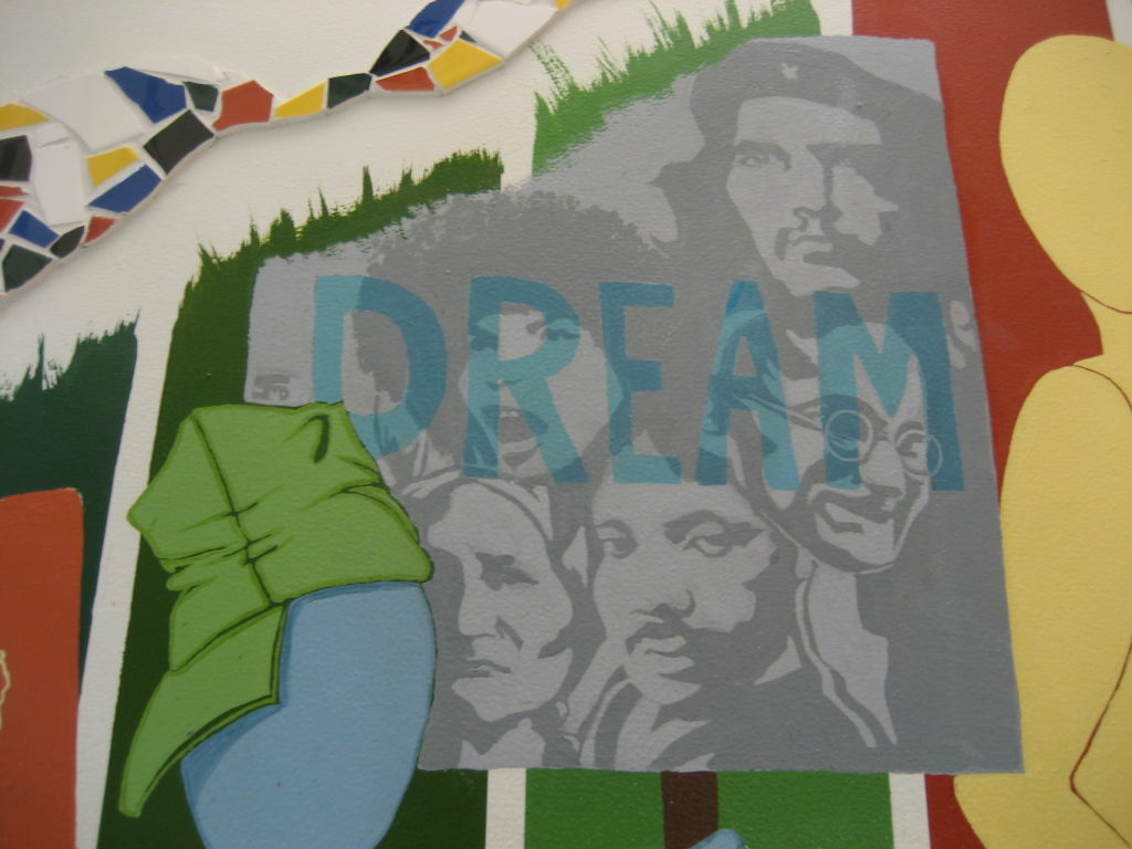 Image of Che Guevara on a CSU Long Beach campus mural has raised the ire of student senator.